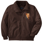 Airedale Terrier Jacket Front Left Chest
