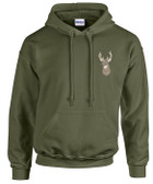 Deer Hooded Sweatshirt