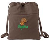 Rhodesian Ridgeback Bag Font shown on bag is ALPINE