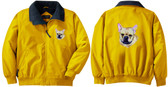 French Bulldog Jacket Back and Front Left Chest