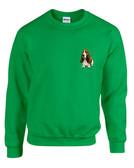 Basset Hound Crewneck Sweatshirt