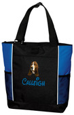 Basset Hound Tote Font shown on bag is MOUSE SCRIPT