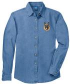 German Shepherd Denim Shirt