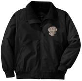 Weimaraner Jacket Front Left Chest