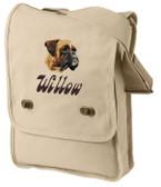 Boxer Bag Font shown on bag is BELLBOTTOMS