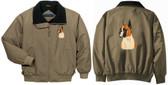 Boxer Jacket Back & Front Left Chest