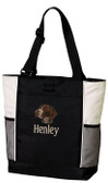 German Shorthair Tote Font shown on bag is BEECH