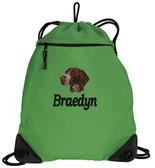 German Shorthair Bag Font shown on bag is BOOKWORM