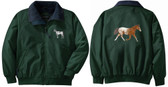 Appaloosa Jacket Back and Front Left Chest