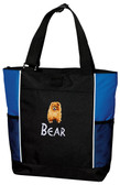 Pomeranian Tote Font shown on bag is BEARTRAP