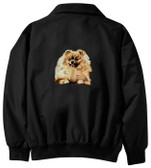 Pomeranian Jacket Back