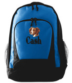 Brittany Backpack Font shown on bag is ELEPHANT