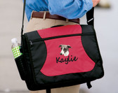 Greyhound Computer Bag Font shown on bag is SEAGULL