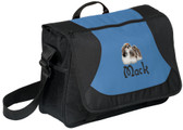 Shih Tzu Computer Bag Font shown on bag is SILENT NIGHT