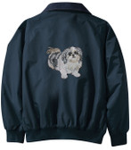 Shih Tzu Jacket Back
