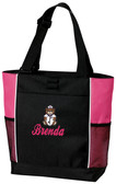 Nurse Tote Font shown on bag is BALLPARK SCRIPT