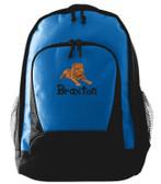 Dogue De Bordeaux Backpack Font shown on bag is KINDERGARTEN