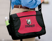 Siberian Husky Computer Bag Font shown on bag is CAVEMAN