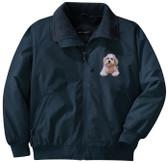 Bichon Frise Jacket Front Left Chest