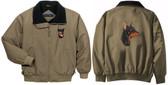 Doberman Jacket Back & Front Left Chest