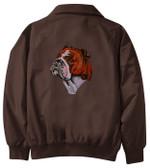 Bulldog Jacket Back
