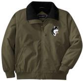 Alaskan Malamute Jacket Front Left Chest