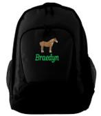 Draft Backpack Font shown on bag is BOOKWORM