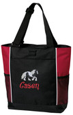 Gypsy Vanner Tote Font shown on bag is BOING