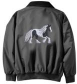 Gypsy Vanner Jacket - Embroidered Back