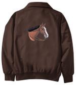 Quarter Horse Jacket Back