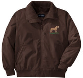 Miniature Horse Jacket Front Left Chest