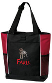 German Wirehair Tote Font shown on bag is BEARTRAP
