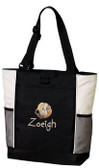 Soft Coated Wheaten Terrier Tote Font shown on tote is Kindergarten