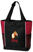 Tennessee Walker Tote Font shown on tote is Road Warrior