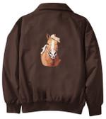 Haflinger Jacket Back
