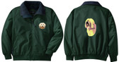 Havanese Jacket Back and Front Left Chest