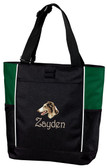 Borzoi Tote Font shown on bag is HARRINGTOWN