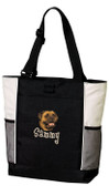 Bullmastiff Tote Font shown on bag is BOYZ