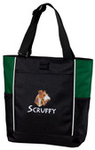 Fox Terrier Panel Tote Font shown on bag is BEARTRAP