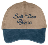 Soli Deo Gloria (Glory to God alone) hat