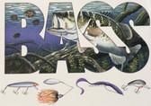Bass Fisherman T-shirt - Imprinted