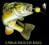 Largemouth Bass Fishing T-shirt - Imprinted