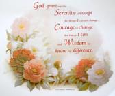 Serenity Prayer T-shirt - Imprinted Serenity Prayer