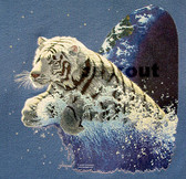 Leaping Tiger T-shirt - Imprinted Leaping Tiger