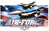 Air Force T-shirt - Imprinted Air Force