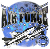 US Air Force T-shirt - Imprinted US Air Force