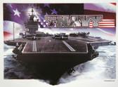 US Navy T-shirt - Imprinted US Navy Ship