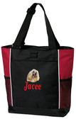 Chinese Crested Panel Tote