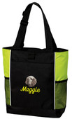 Clumber Spaniel Panel Tote