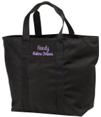 Personalized Tote Bag Font shown on tote is SWEETHEART
